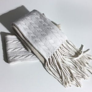 Ann Taylor 100% cashmere scarf